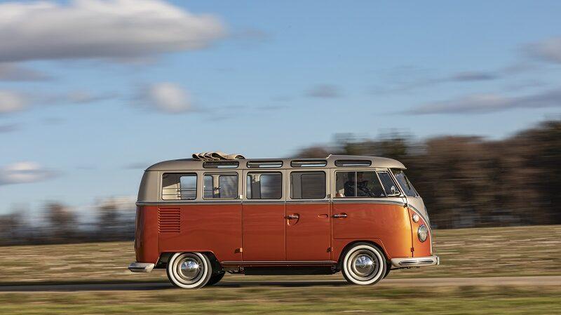 Volkswagen E-Bull, VW-Bulli, T1 Samba, Campervan, Vanlife