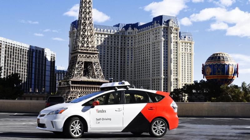 Yandex Robotertaxi, Las Vegas