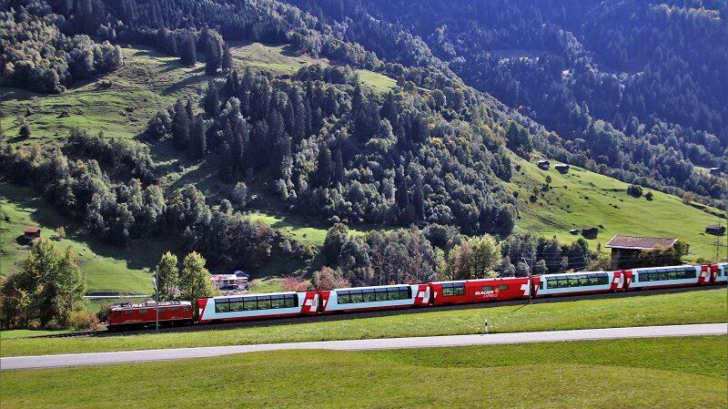 Schweiz, Alpen, Zug, Bahn, SBB, Berge