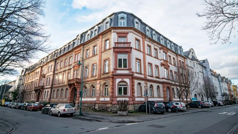 Darmstadt, Straße, Autos