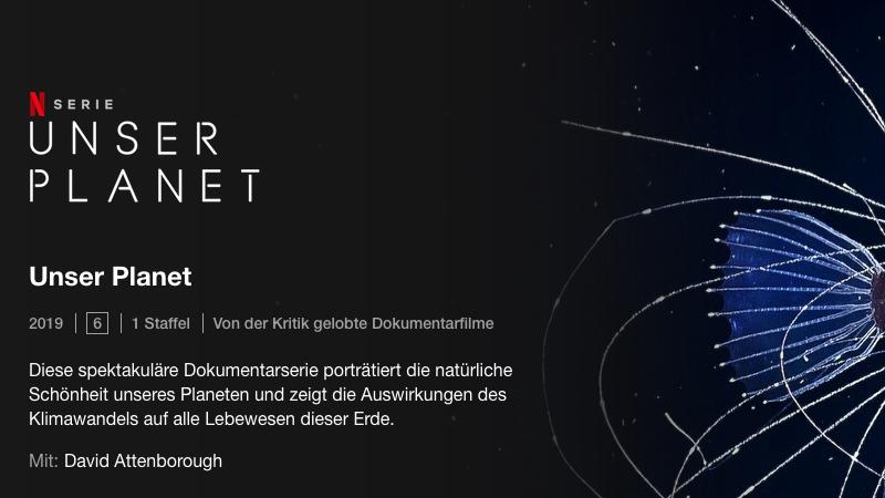 Unser Planet, Doku, Netflix