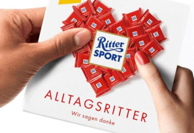Ritter Sport, Schokolade, #Alltagsritter, Markenimage