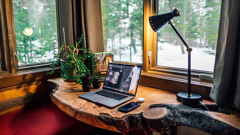 Büro, Schreibtisch, Home Office, Arbeitsplatz