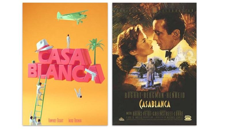 Casablanca, Filmklassiker, Filmplakate