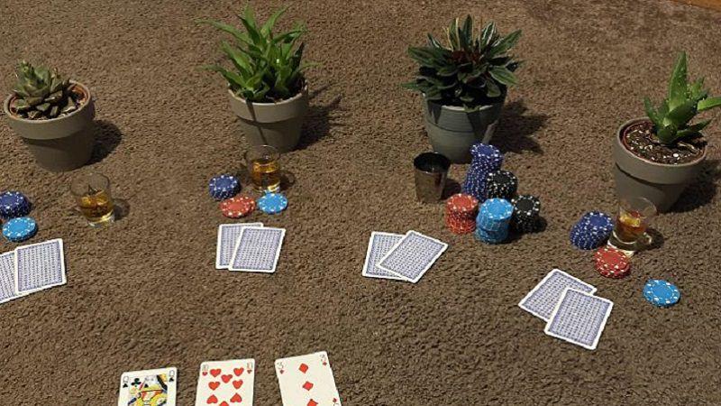 Poker, Quarantäne, Spiele, Coronavirus, Corona-Quarantäne
