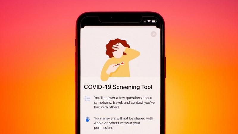 Apple, Covid-19 Screening, Covid-19-Test, COVID 19