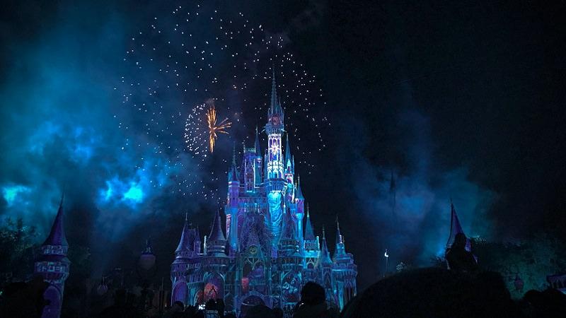 Disney, Disneyland, Disney Land, Feuerwerk, Disney Plus