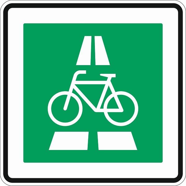 Radschnellweg, Schild, Verkehrsschild, Straßenschild
