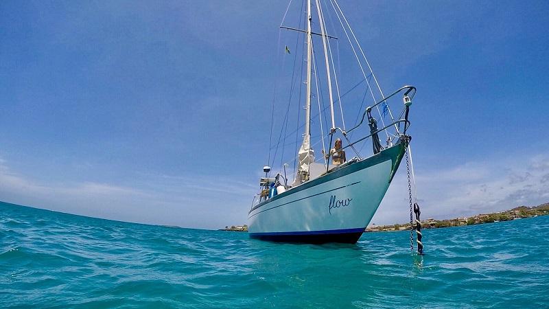 Flow, Segelboot, Karibik, segeln, Weltreise