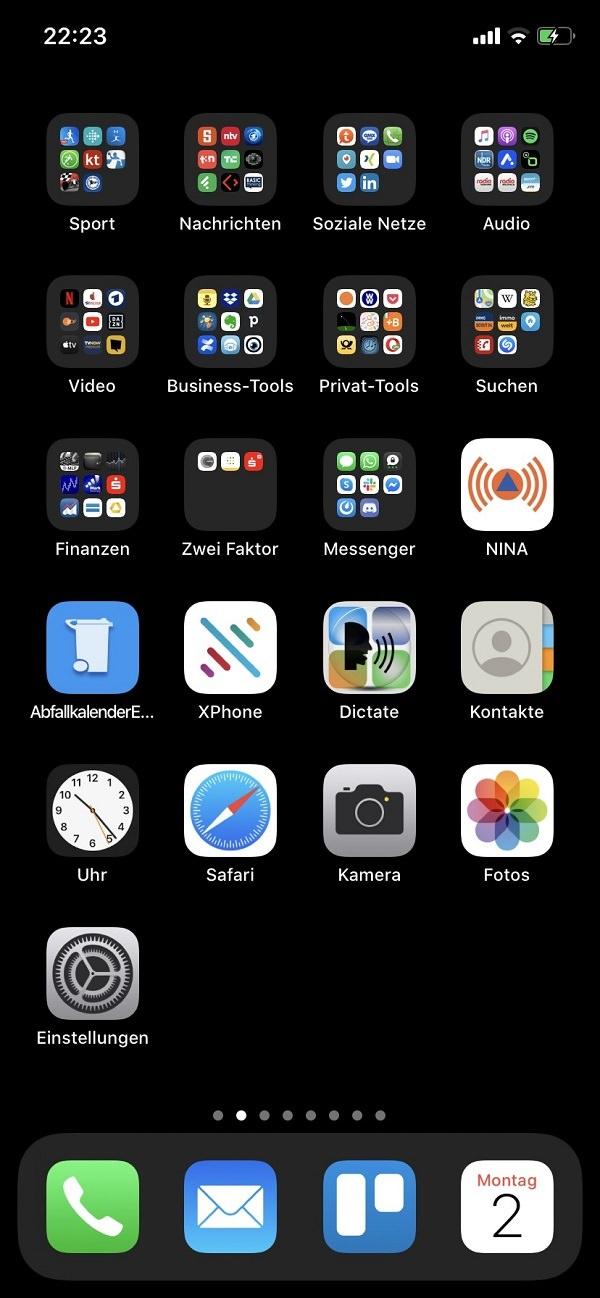 Homescreen, iPhone, Apps, Apple, Karsten Glied, Techniklotsen