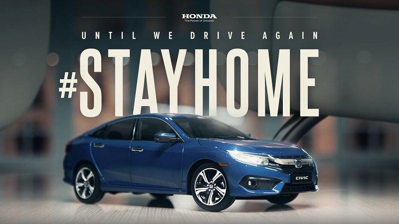 Honda Civic, Melmac Ogilvy, #StayHome