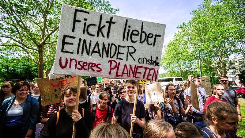 Klima, Protest, Demonstration, Marsch, Klimaschutz, Fridays for Future