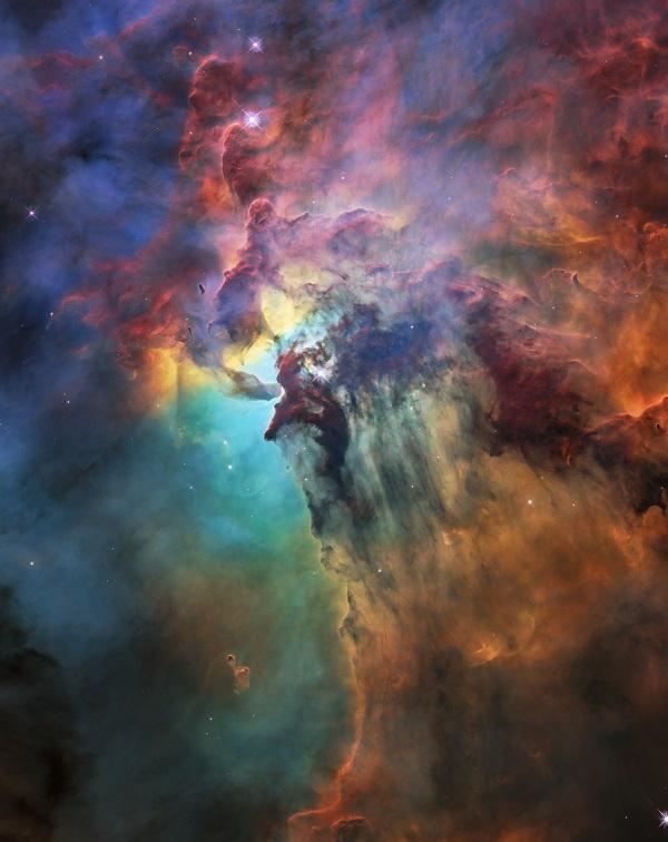 Lagunennebel, Hubble, NASA, ESA, Teleskop