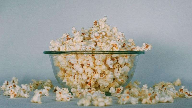 Popcorn, Schüssel, Schale, Amazon Prime im Mai