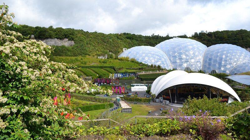 Projekt Eden Cornwall, grün, Architektur