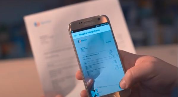 Reviso Scan-App Buchhaltungssoftware