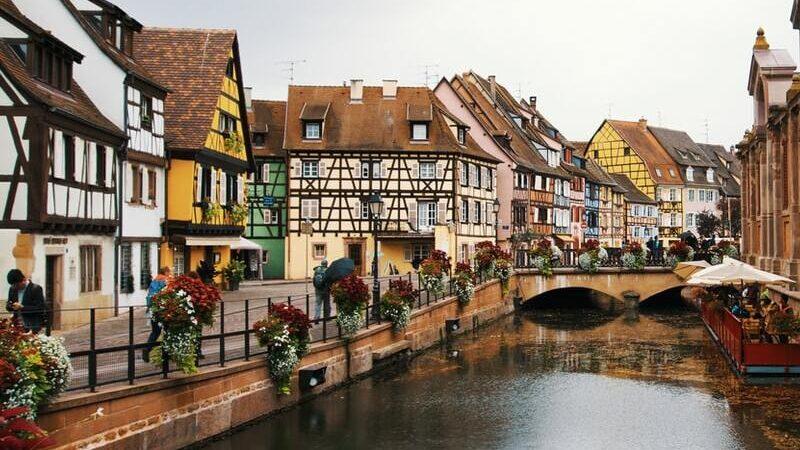 Colmar, Frankreich, Häuser