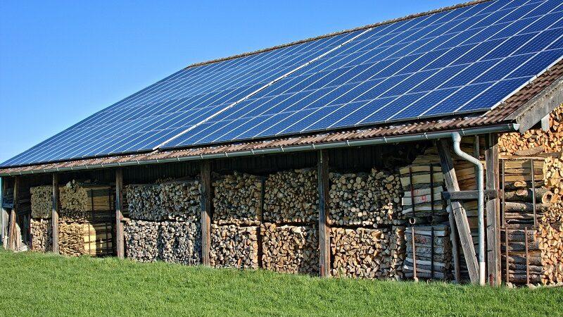 Solardach, Solar, Ökostrom, Öko, Natur, Holz