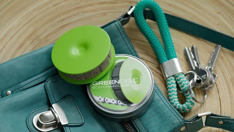 Green Disc, Fahrrad, Fahrradkette, Öl