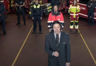 Immer wieder geht die Sonne auf, Stadt Aachen, Freiwillige Feuerwehr Aachen, Polizei Aachen, Konzert, Udo Jürgens