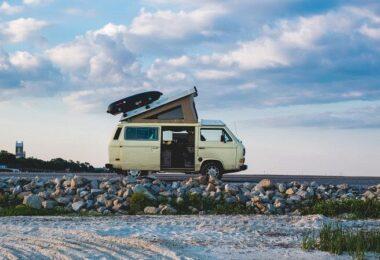 Campervan, Wohnmobil, Bus, Bulli, Vanlife, Strand, Meer