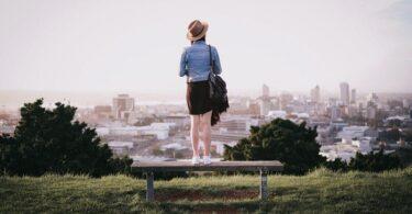 Auckland, Neuseeland, Mount Eden Frau, Aussicht, Panorama