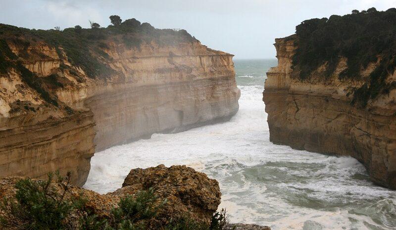 Australien, Ozean, Meer, Felsen