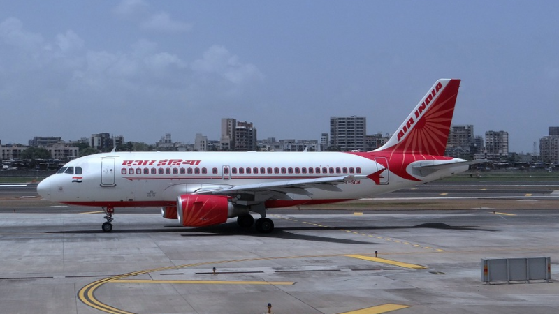 Air India, Flugzeug