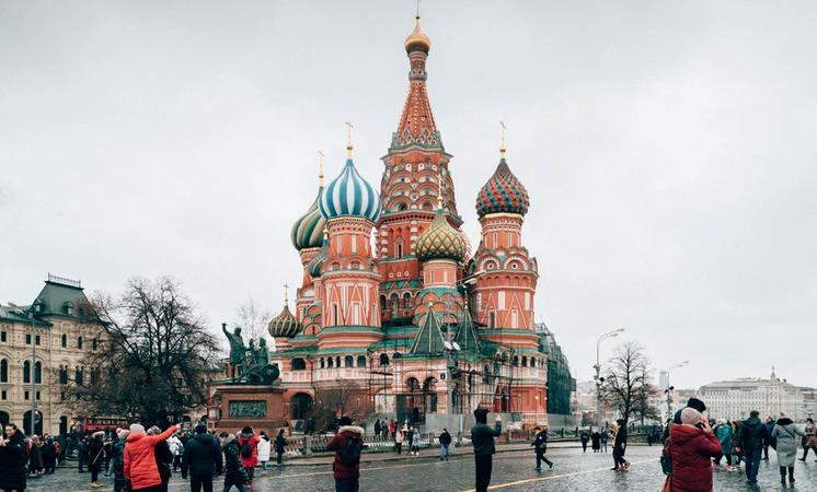 Moskau, Russland, Roter Platz
