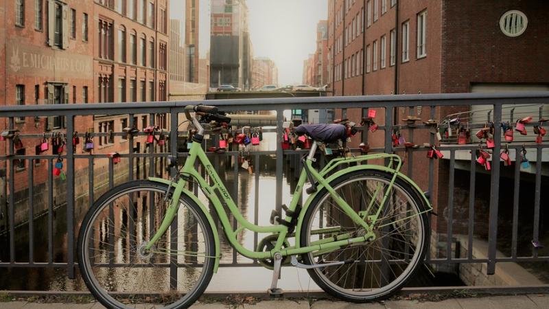 Fahrrad, Hamburg