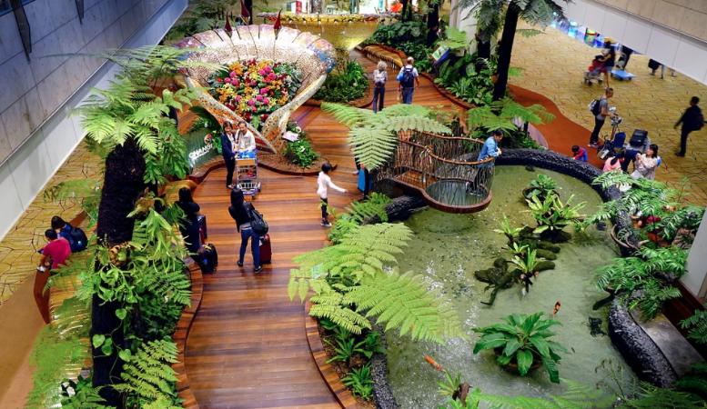 Changi, Flughafen