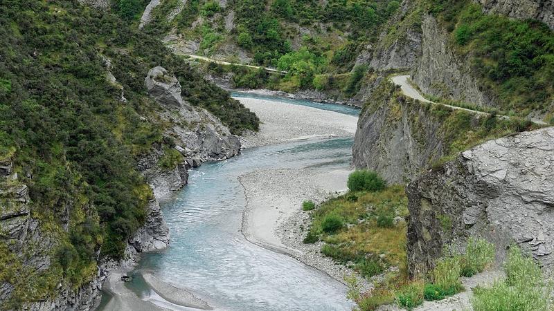 Skipper´s Canyon, Neuseeland, Fluss
