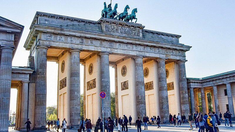 Brandenburger Tor, Berlin, Bundeshauptstadt, Quarantäne-Station
