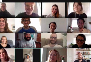 Buddybrand, Google Hangout, Google Hangouts, Videokonferenz, Home Office
