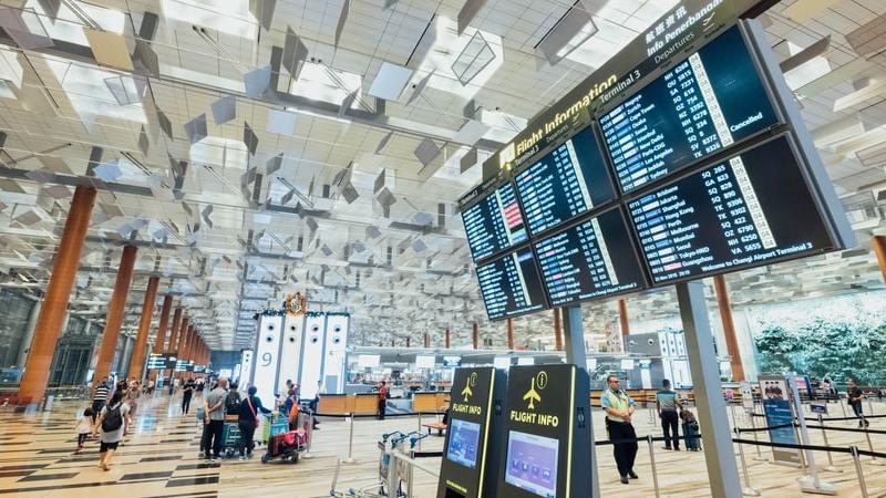 Flughafen, Check-in, Flüge, reisen