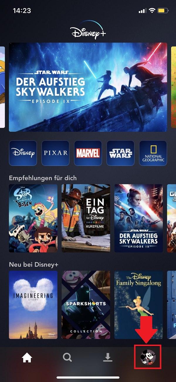 Disney Plus, Disney Plus App, Disney-Plus-Nutzer entfernen, Disney Plus von allen Geräten abmelden, iPhone, iPhone 11