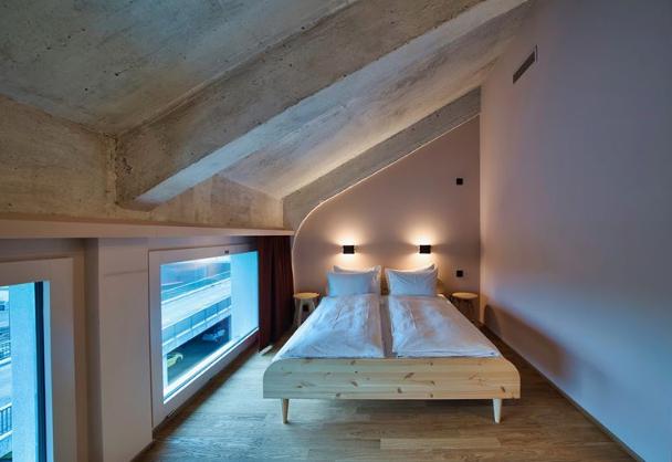Hostel, Silo Hostel Basel, Design, Kleinbasel