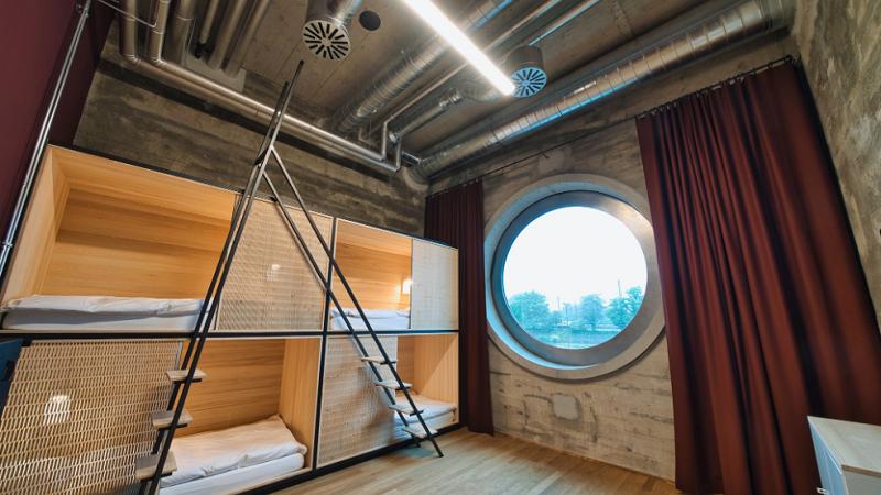 Dorm, Hostel, Mehrbettzimmer, Silo-Hostel Basel