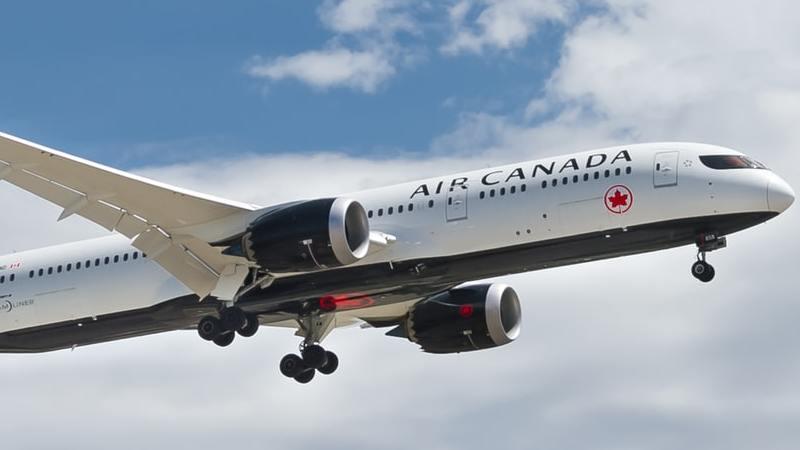 Air Canada, Flugzeug