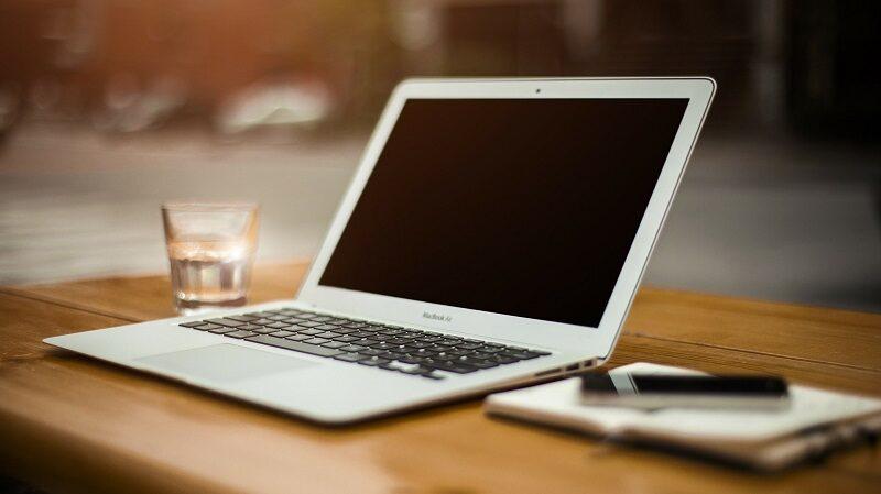 Laptop, Schreibtisch, arbeiten, Home Office, Big Brother