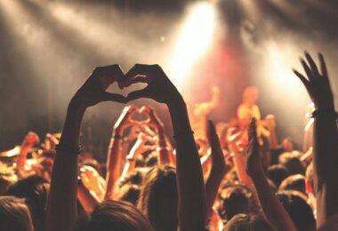 Konzert, Musik, Menge, Menschen, Coca-Cola