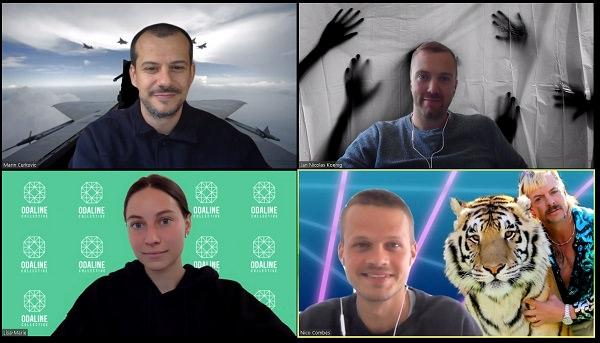 Odaline, öffentlicher Talk, Zoom-Call, Wir-Gefühl