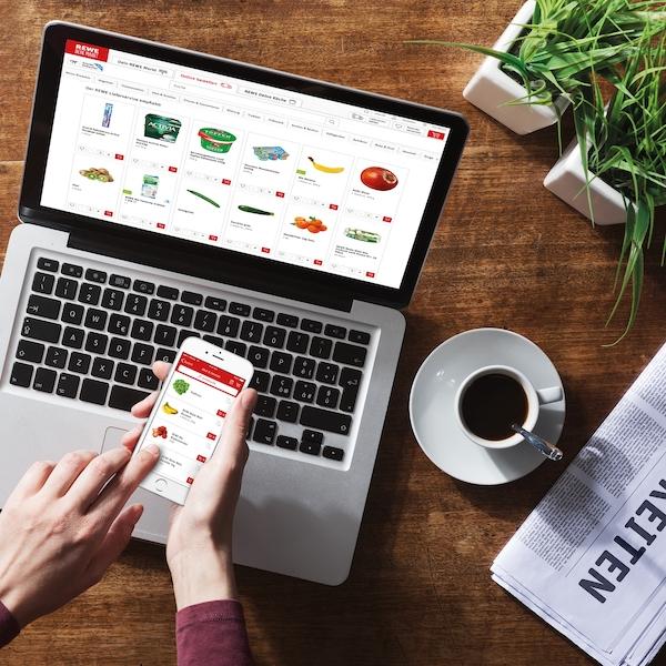 REWE Lieferdienst Lebensmittel online kaufen