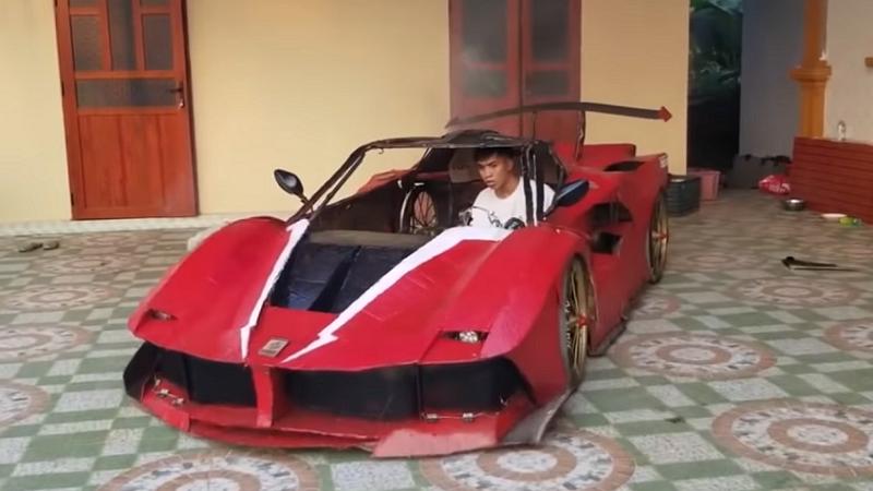 Ferrari, DIY, Basteln, Auto, YouTube