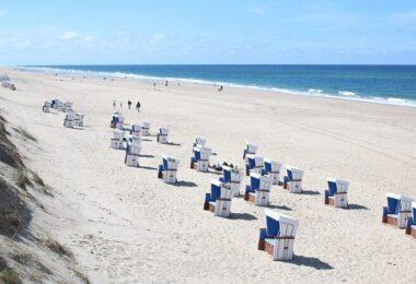 Strandkorb, Meer, Nordsee, Sylt