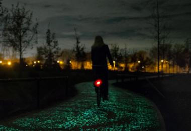 Van Gogh Path, Van Gogh Fahrradweg, Niederlande, Fahrrad