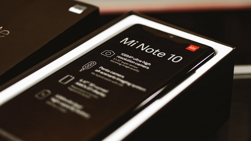 Xiaomi, Xiaomi Mi Note 10, Smartphone