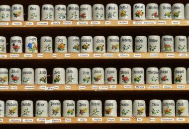 Bierkrüge, Souvenirs, Namen