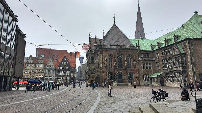 Bremen Rathaus, Innenstadt, Architektur