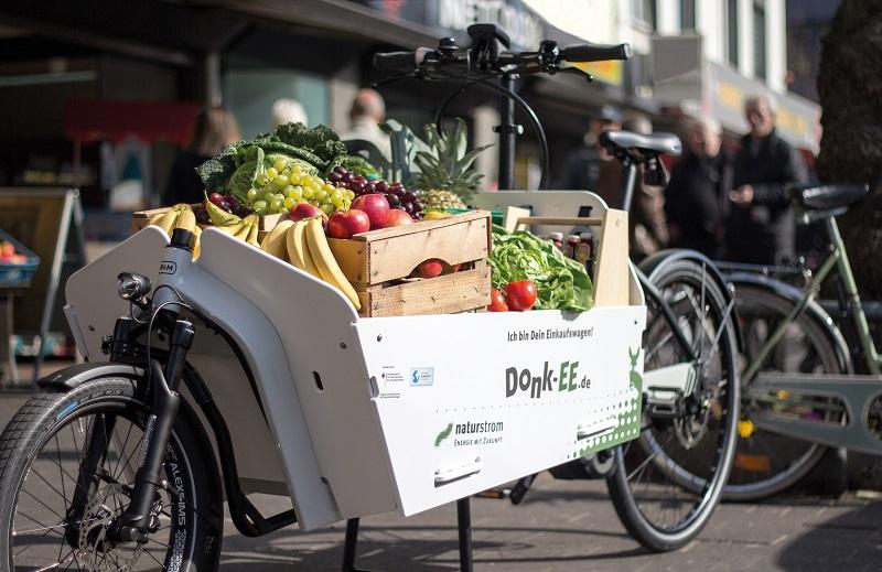 Donk-EE, Lastenrad, Köln, E-Bike, Obst, Gemüse, Transport